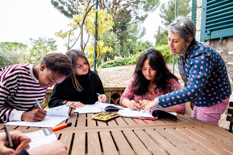 Séjour linguistique France, Antibes - Centre International d'Antibes - Leçons