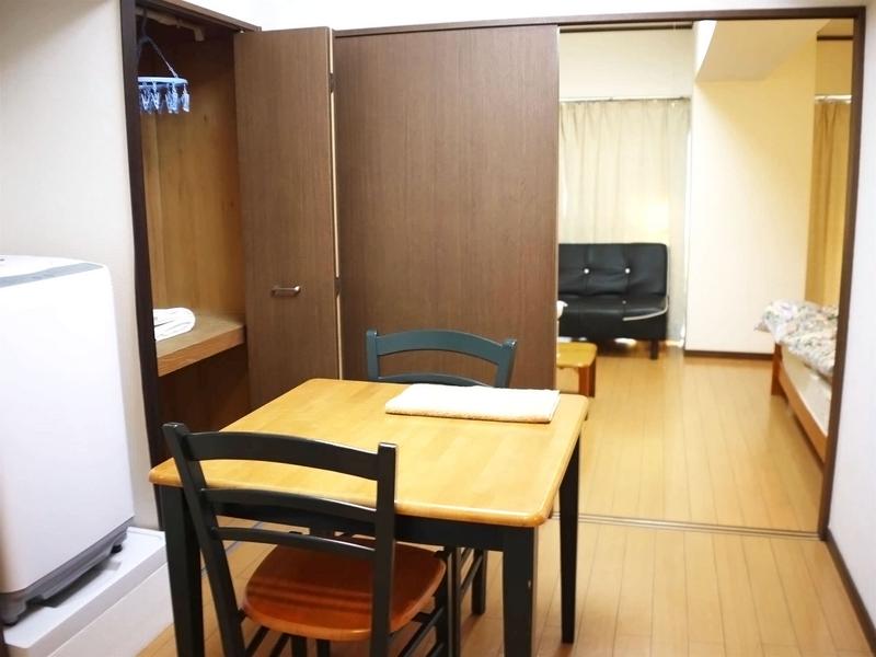 Sprachaufenthalt Japan, Tokio - Genki Japanese School Tokio - Accommodation - Apartment - Wohnzimmer