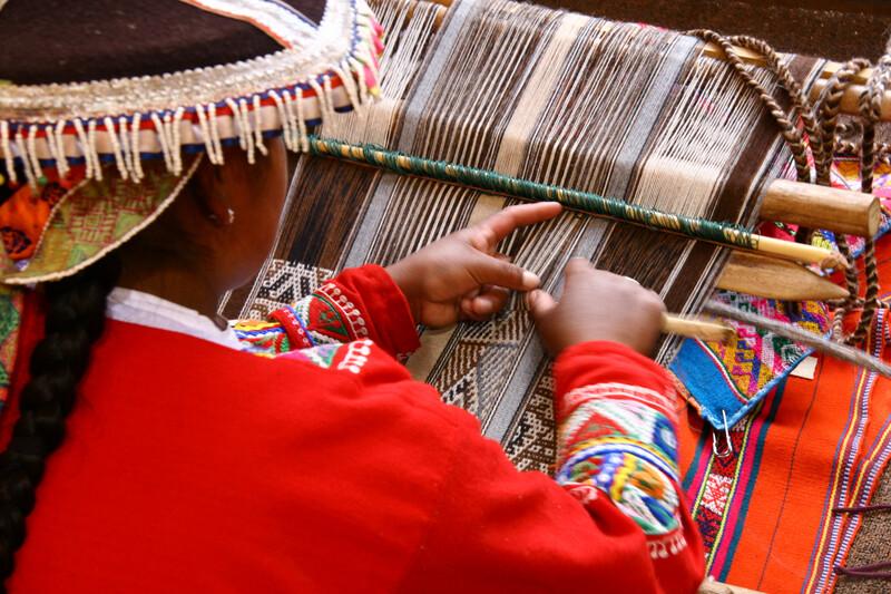 Séjour linguistique Pérou, Cuzco - Tisseur