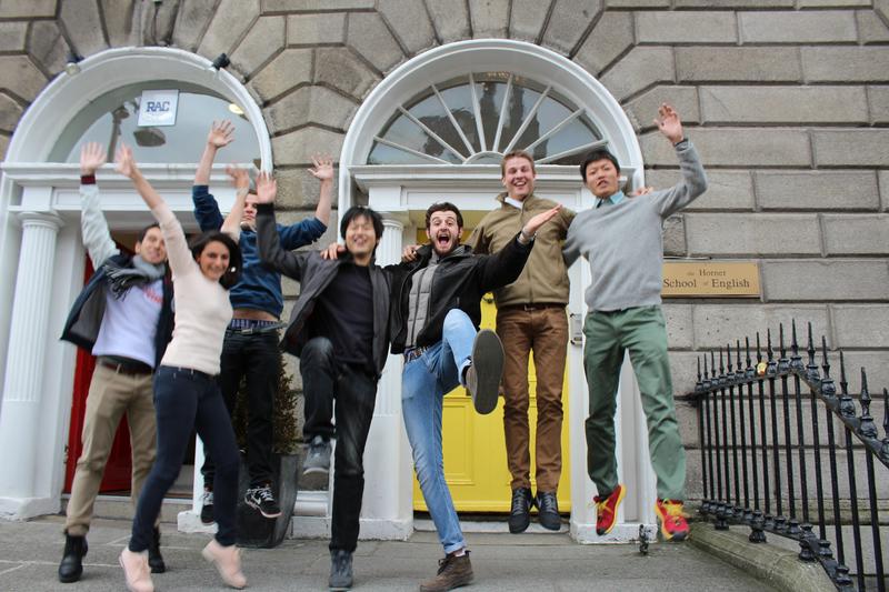 Sprachaufenthalt Irland, Dublin - The Horner School Dublin - Studenten