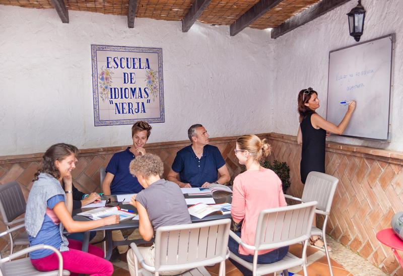 Sprachaufenthalt Spanien, Nerja - Escouela de Idiomas - Lektionen