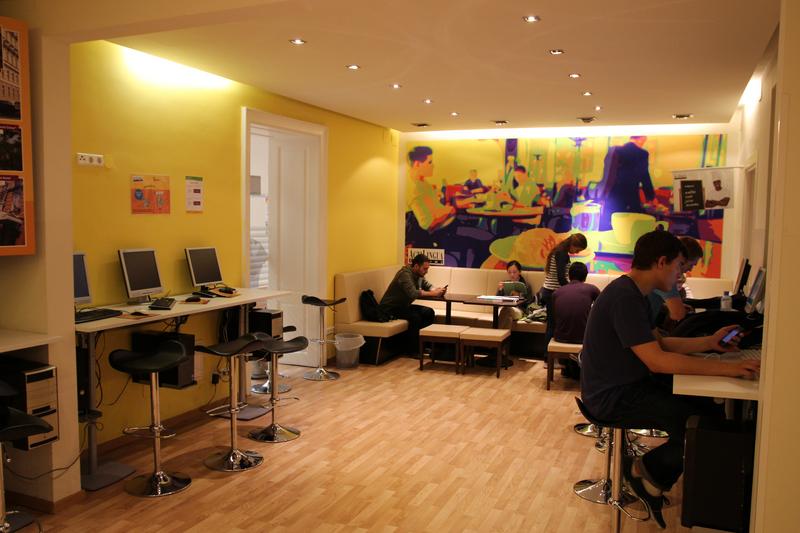 Sprachaufenthalt Österreich, Wien - Actilingua Academy Vienna - Lounge