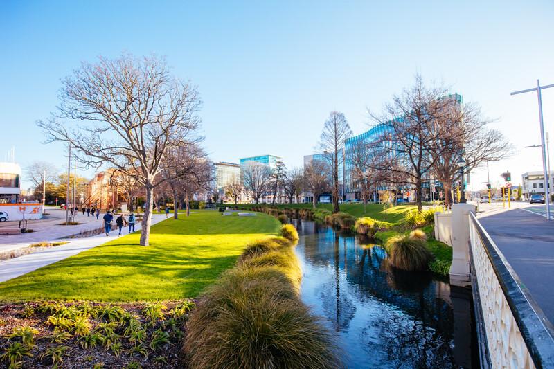 Séjour linguistique Nouvelle Zélande, Christchurch - Avon River