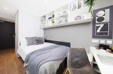 Sprachaufenthalt England, Manchester - BSC Manchester - Accommodation - Residenz - Schlafzimmer