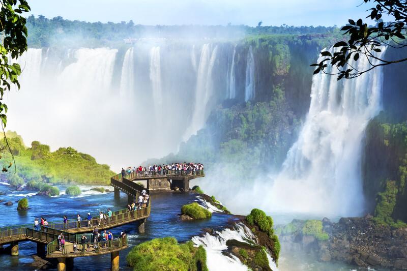 Sprachaufenthalt Brasilien, Iguazu Falls