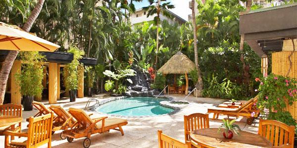 Sprachaufenthalt USA, Hawaii - IIE - Accommodation - Bamboo Apartment - Anlage
