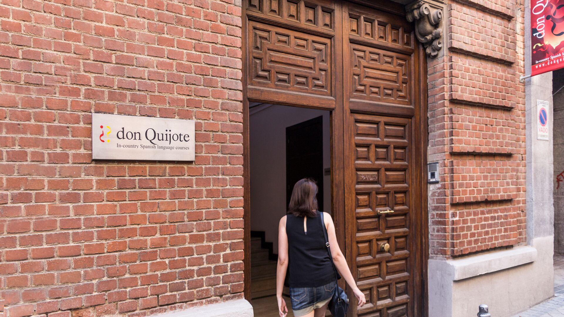 Sprachaufenthalt Sprachreise Spanisch Spanien in Madrid Don Quijote