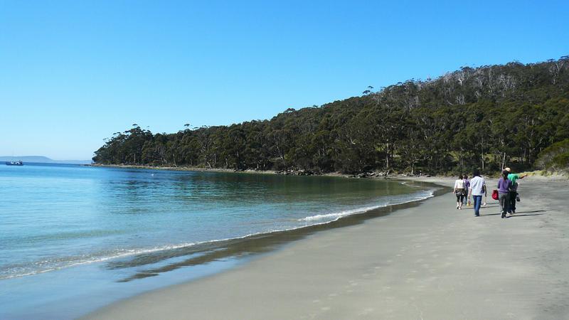 Sprachaufenthalt Australien, Tasmanien - Tasmanian College of English Hobart - Strand