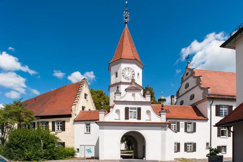 Séjour linguistique Allemagne, Bad Schussenried - Bâtiment du portail