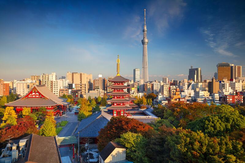 Sprachaufenthalt Japan, Tokio