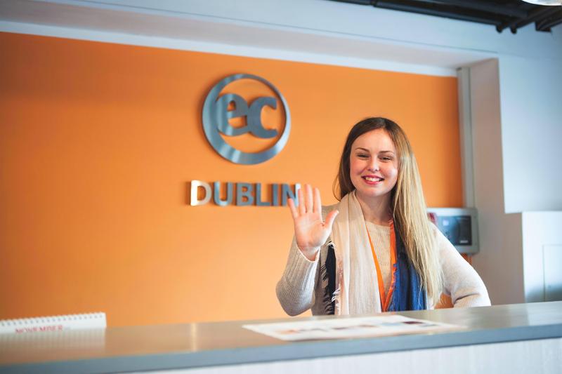 Sprachaufenthalt Irland, Dublin - EC Dublin 30+ - Rezeption
