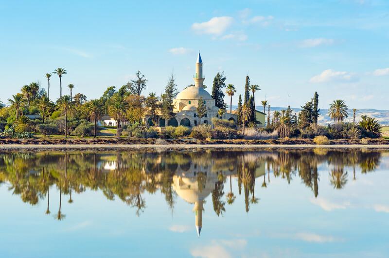 Séjour linguistique Chypre, Larnaca - Mosquée Hala Sultan Tekke