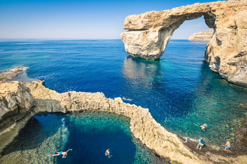 Sprachaufenthalt Malta, Gozo - Azure Window