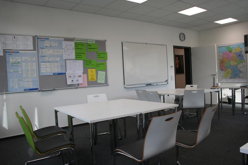 Sprachaufenthalt Deutschland, Mannheim - Goethe-Institut Mannheim - Klassenzimmer - © Goethe-Institut-Annemone Taake