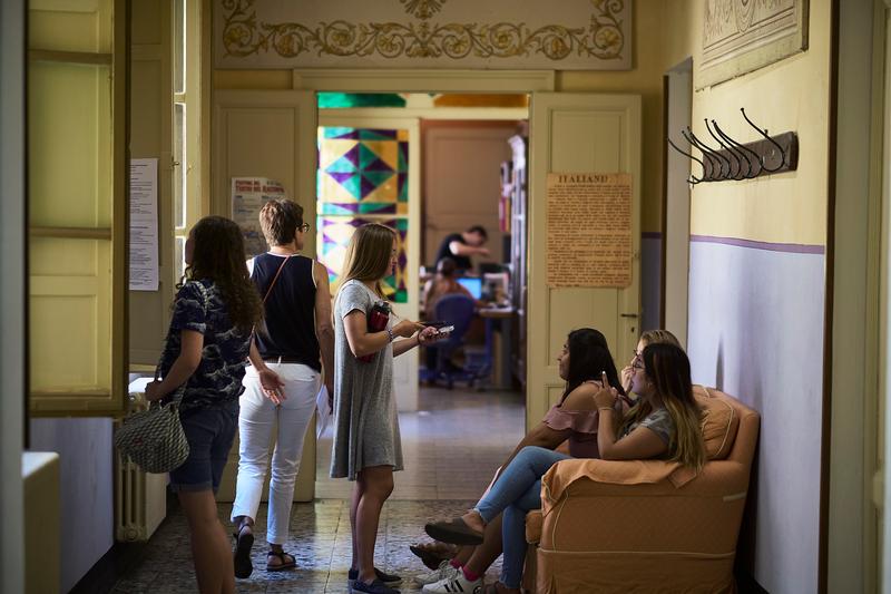 Séjour linguistique Italie, Siena - Dante Alighieri Siena  - Lounge