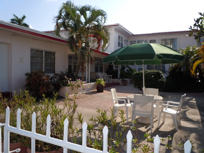 Sprachaufenthalt USA, Fort Lauderdale - Language Academy - Apartment Patio
