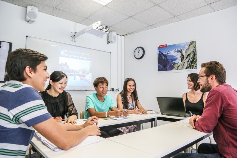 Sprachaufenthalt Frankreich, Annecy - Ifalpes Annecy -Lektionen