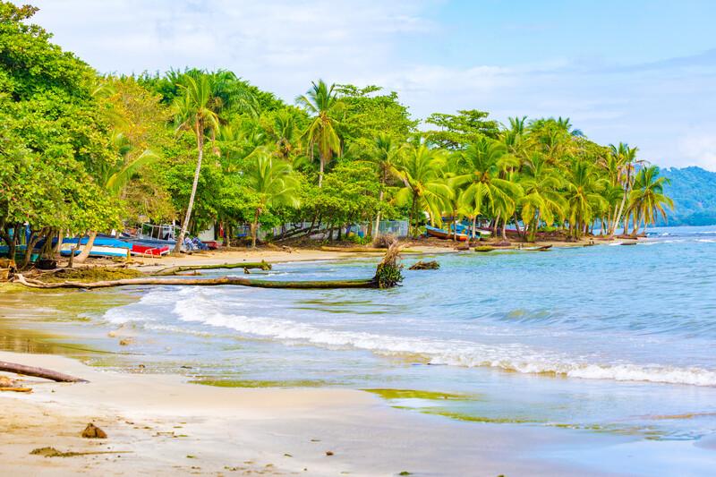 Sprachaufenthalt Costa Rica, Puerto Viejo de Talamnca - Strand