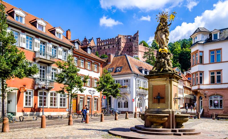 Sprachaufenthalt Deutschland, Heidelberg - Altstadt