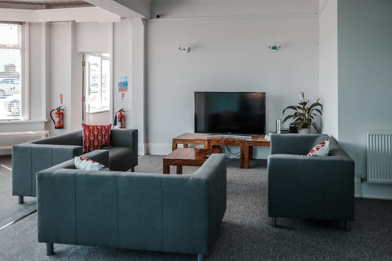 Sprachaufenthalt England, Paignton - LAL Torbay - Accommodation - Residenz - Lounge