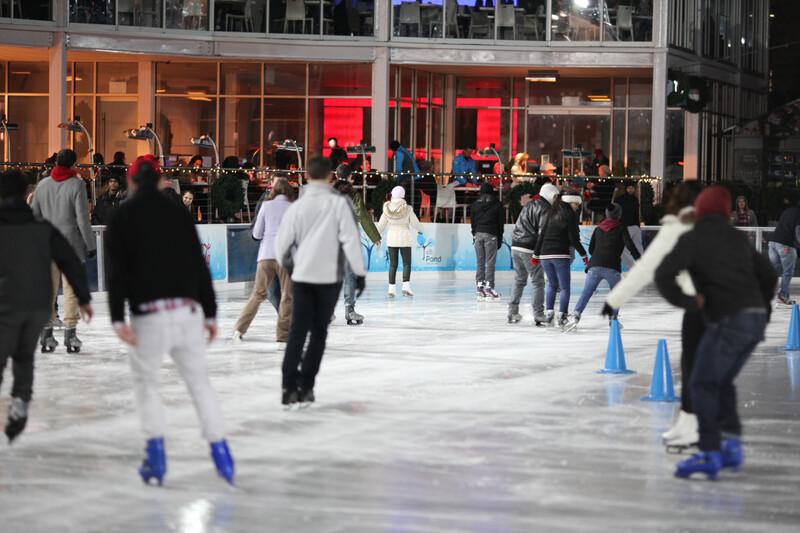 Séjour linguistique États-Unis, New York - Patinage sur glace à Bryant