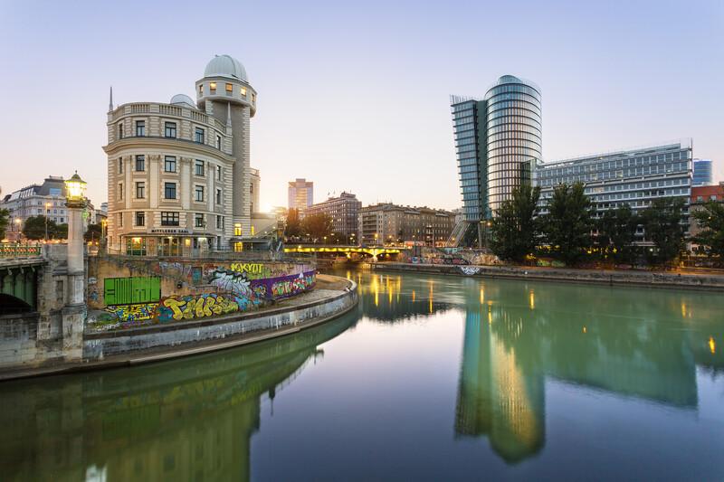 Séjour linguistique Austria, Vienna - Danube - Canal