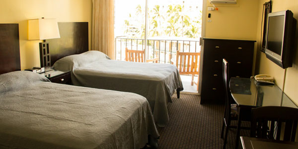 Sprachaufenthalt USA, Hawaii - IIE - Accommodation - Bamboo Apartment - Zimmer