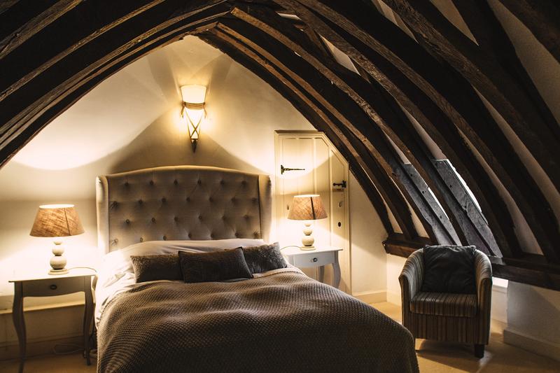 Sprachaufenthalt England, Warnford - Riversdown House Warnford - Accommodation - Gästezimmer - Schlafzimmer