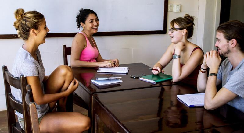 Séjour linguistique Costarica, Playa Tamarindo - WAYRA Instituto Playa Tamarindo - Leçons