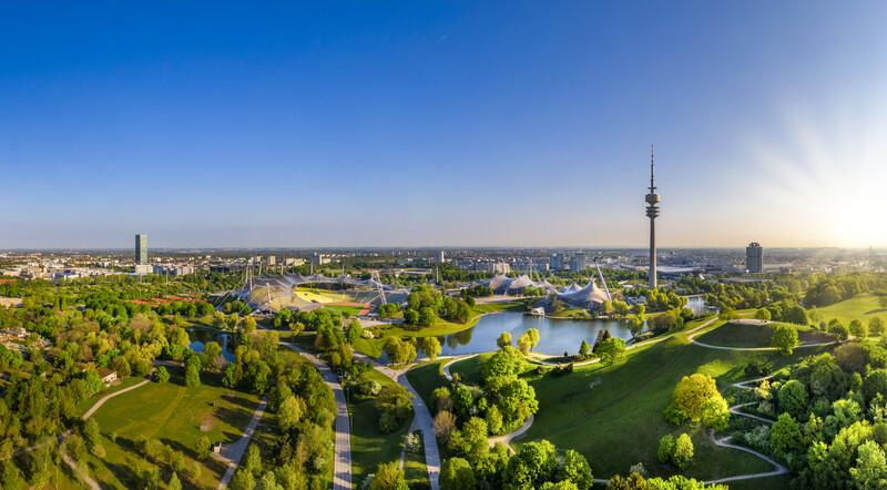 Sprachaufenthalt Deutschland, München - Olympiagelände
