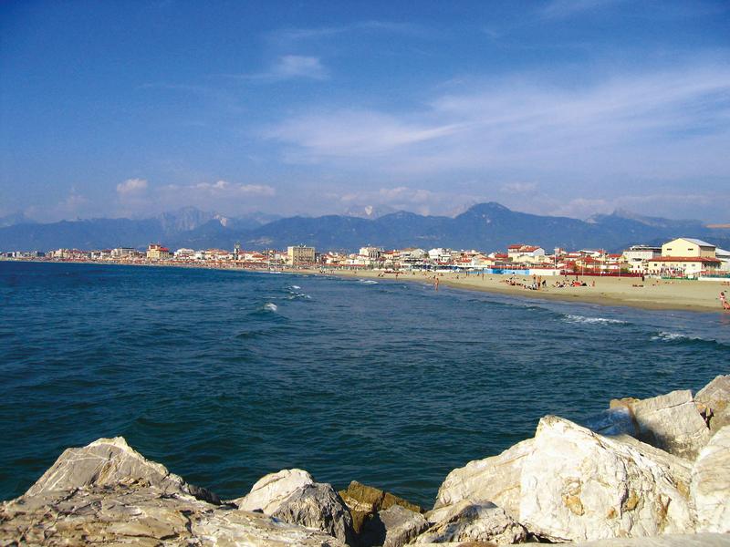 Sprachaufenthalt Italien, Viareggio - Strand