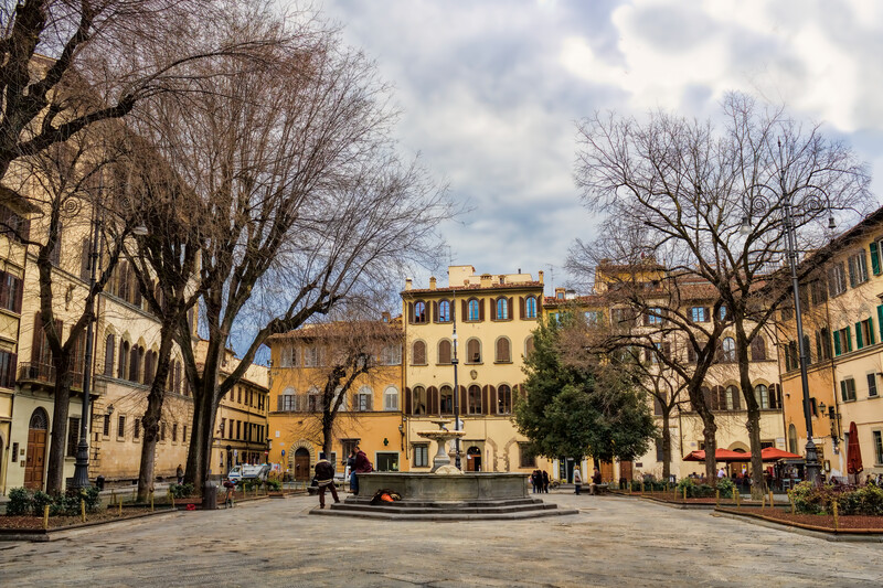 Séjour linguistique Italie, Florence - Piazza santo spirito