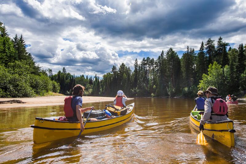 Sprachaufenthalt Kanada, Quebec - Kanutour