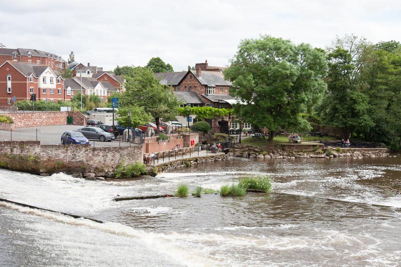 Sprachaufenthalt England, Exeter - Fluss