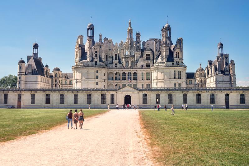 Sprachaufenthalt Frankreich, Tours - Schloss