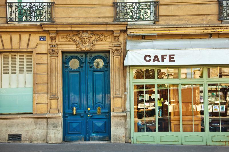 Sprachaufenthalt Frankreich, Cafe