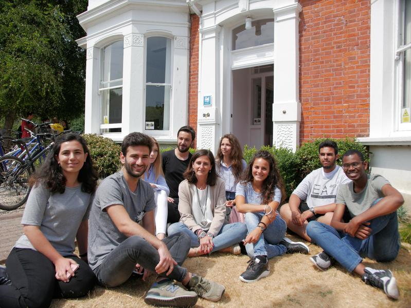 Sprachaufenthalt England, Worthing - CES Worthing - Studenten