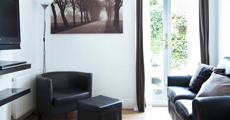 Sprachaufenthalt England, London - Stafford House London - Accommodation - Houseshare Apartment - Wohnzimmer