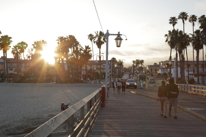 Séjour linguistique États-Unis, Santa Barbara - Coucher de soleil