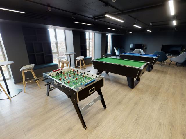 Sprachaufenthalt England, London - EC London - Accommodation - Apartment IQ Shoreditch - Aufenthaltsraum