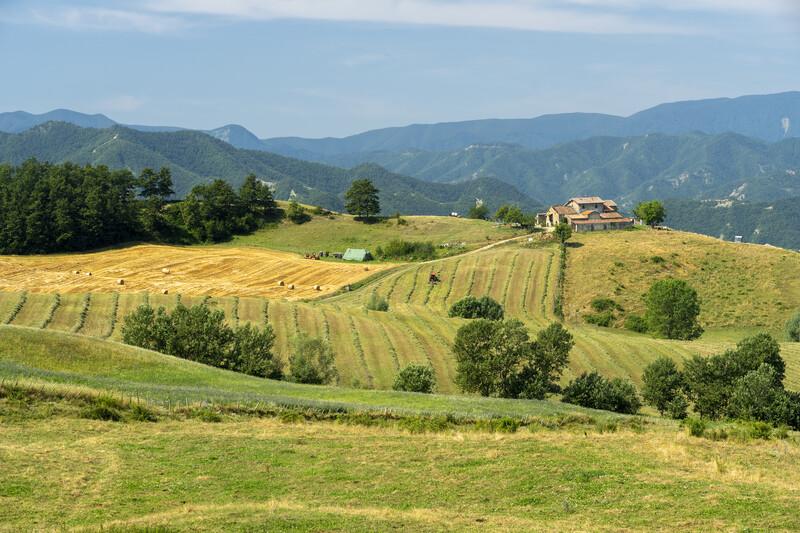 Séjour linguistique Italie, Bagno di Romagna - Paysage