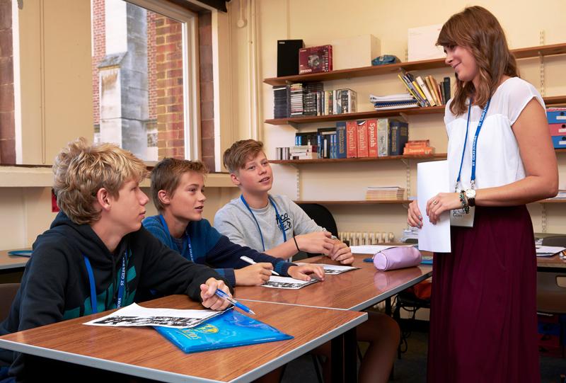 Sprachaufenthalt England - Canterbury - St Giles Canterbury - Lektionen