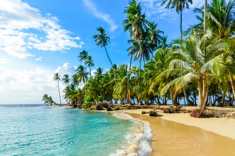 Séjour linguistique Panama, Plage