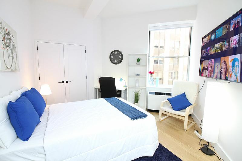 Sprachaufenthalt USA, New York - EC - Accommodation - Wall Street Apartments - Doppelzimmer
