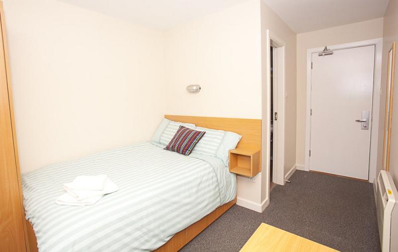 Sprachaufenthalt Irland, Cork - ACET - Accommodation - Apartment - Victoria Lodge - Schlafzimmer