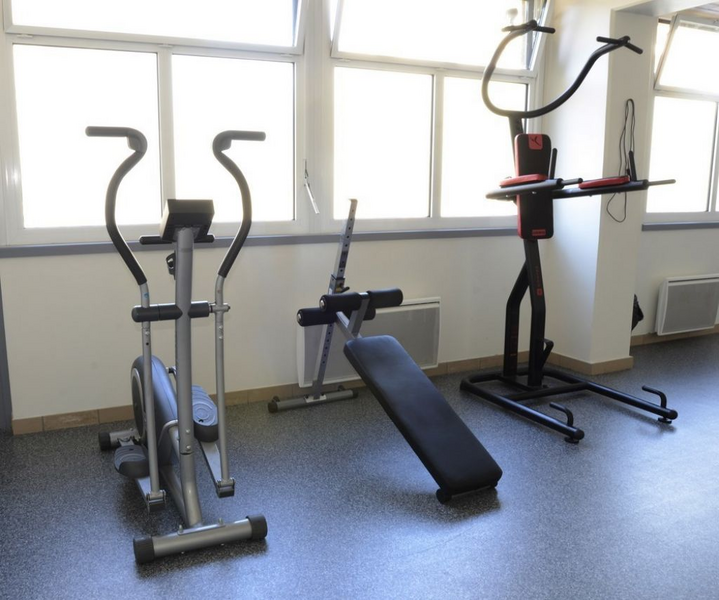 Sprachaufenthalt Frankreich, Lyon - Alpadia Language School Lyon - Accommodation - Student Residenz - Gym