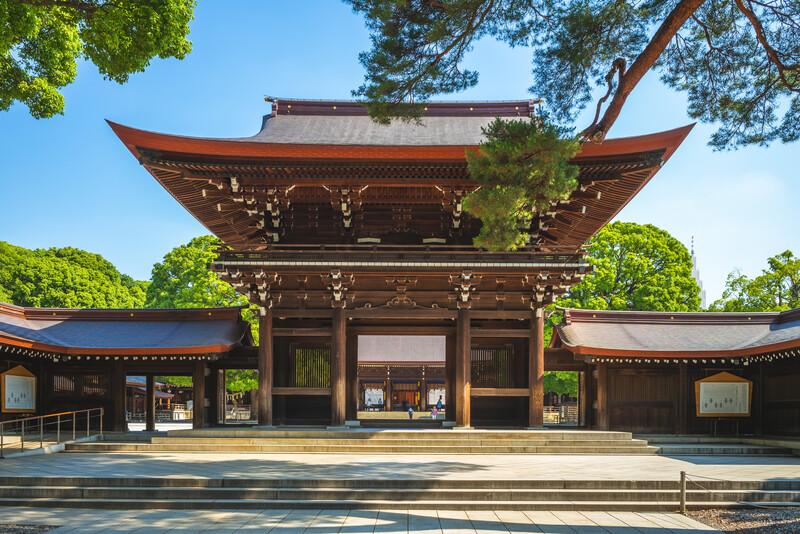 Sprachaufenthalt Japan, Tokio - Meiji Schrein