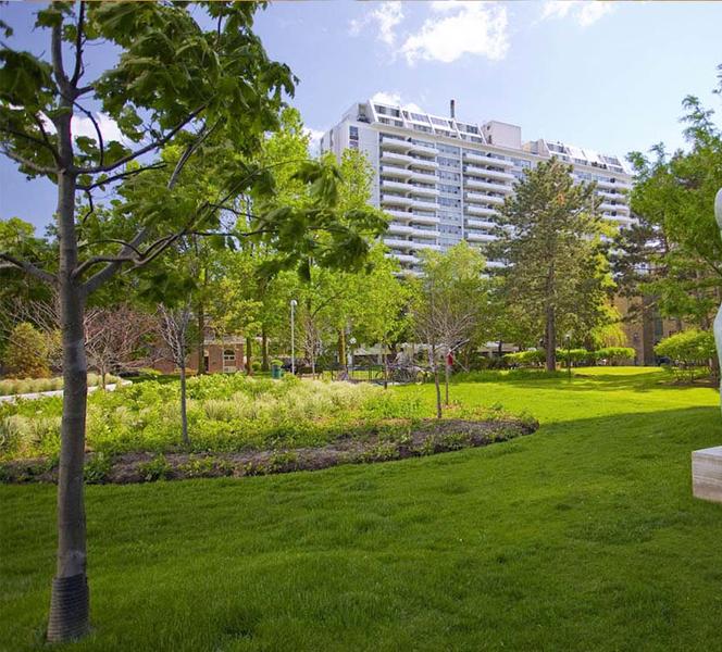 Sprachaufenthalt Kanada, Toronto - Stafford House Toronto - Accommodation - Residenz Harrington - Aussenbereich