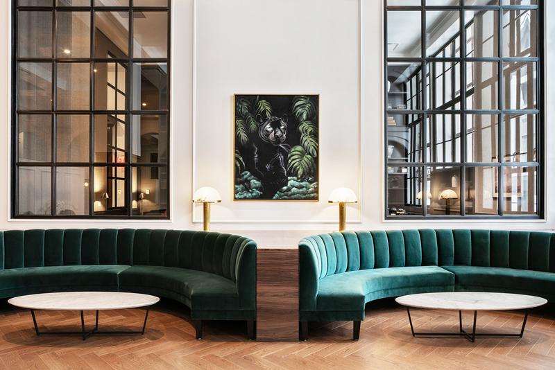 Sprachaufenthalt USA, New York - EC - Accommodation - Wall Street Apartments - Lounge