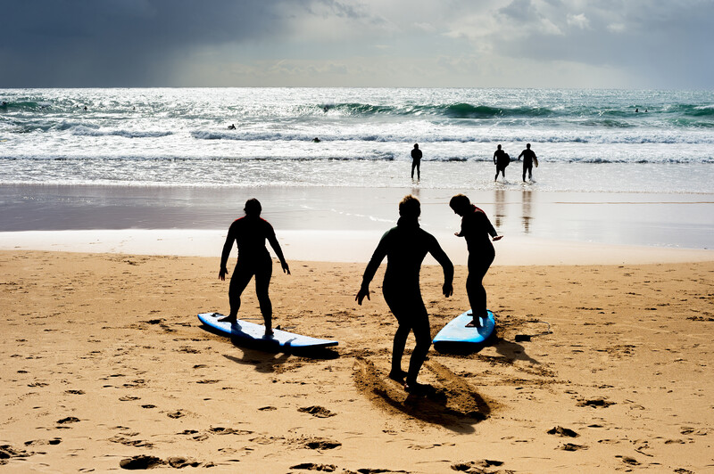 Sprachaufenthalt Portugal, Faro - Surfing
